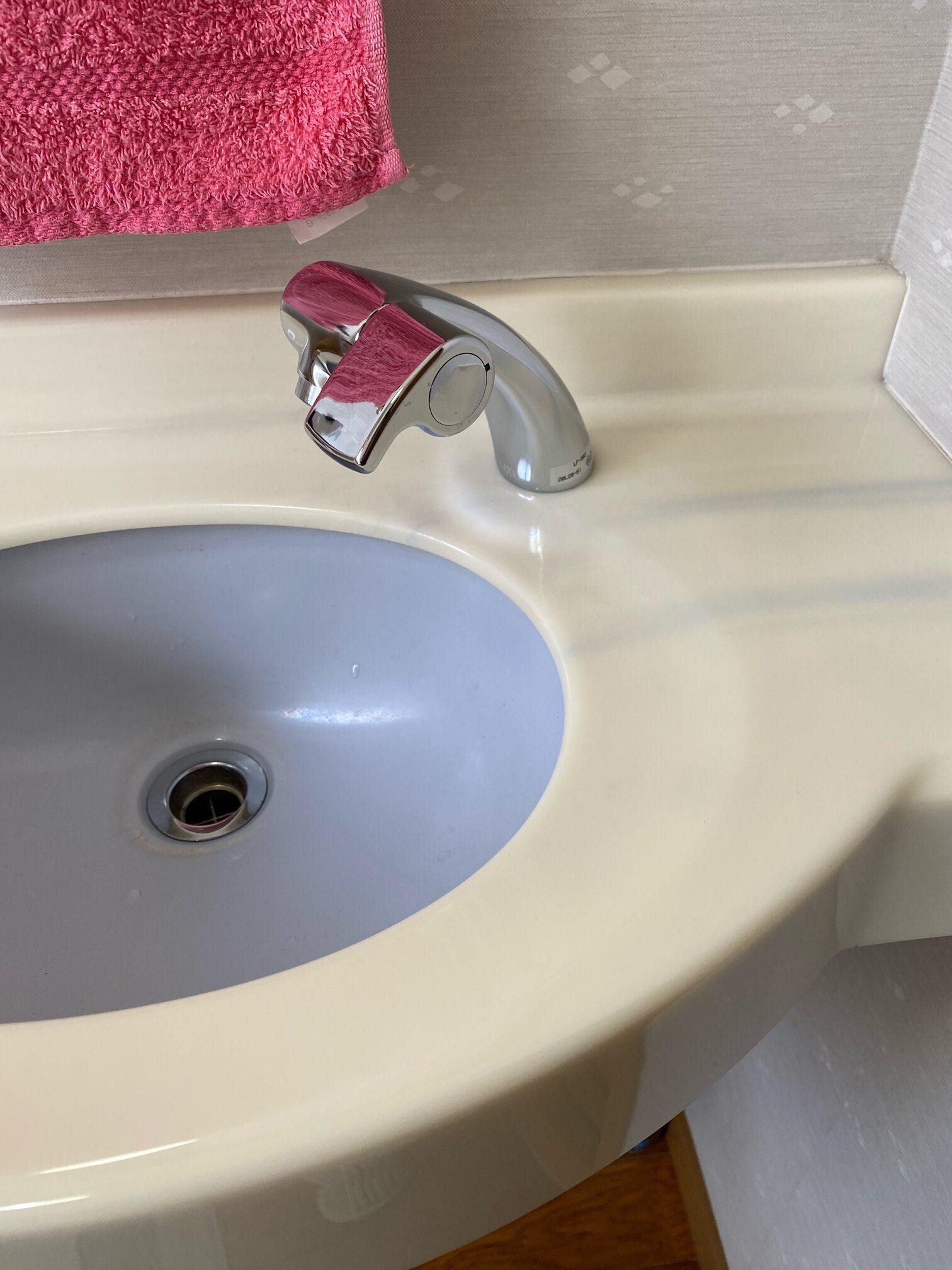 東大和市 Y様邸トイレ手洗器水栓リフォーム